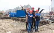 Feestelijke start bouw Fase 1B